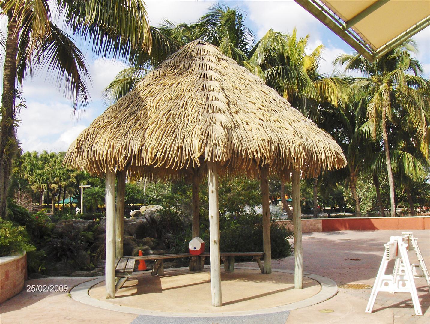 Aloha Palm Thatch Synthetic Thatch Amazulu