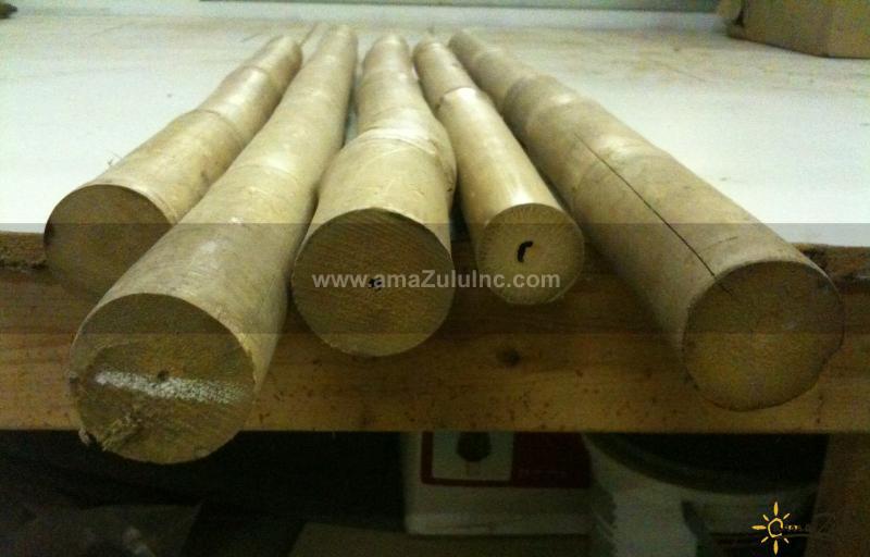 Rustic Bamboo Fencing from amaZulu, Inc  - amaZulu