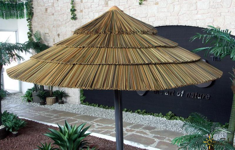Synthetic Palm Thatch Save