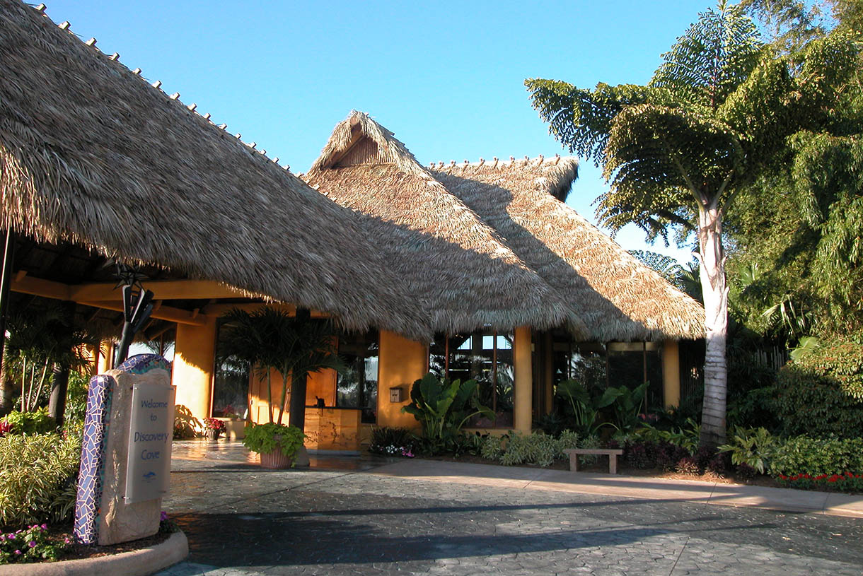 Thatched Roof Pavilions