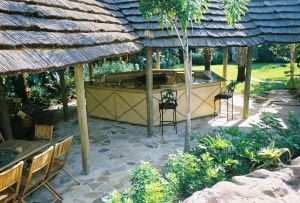 Natural Reed Thatch Panels