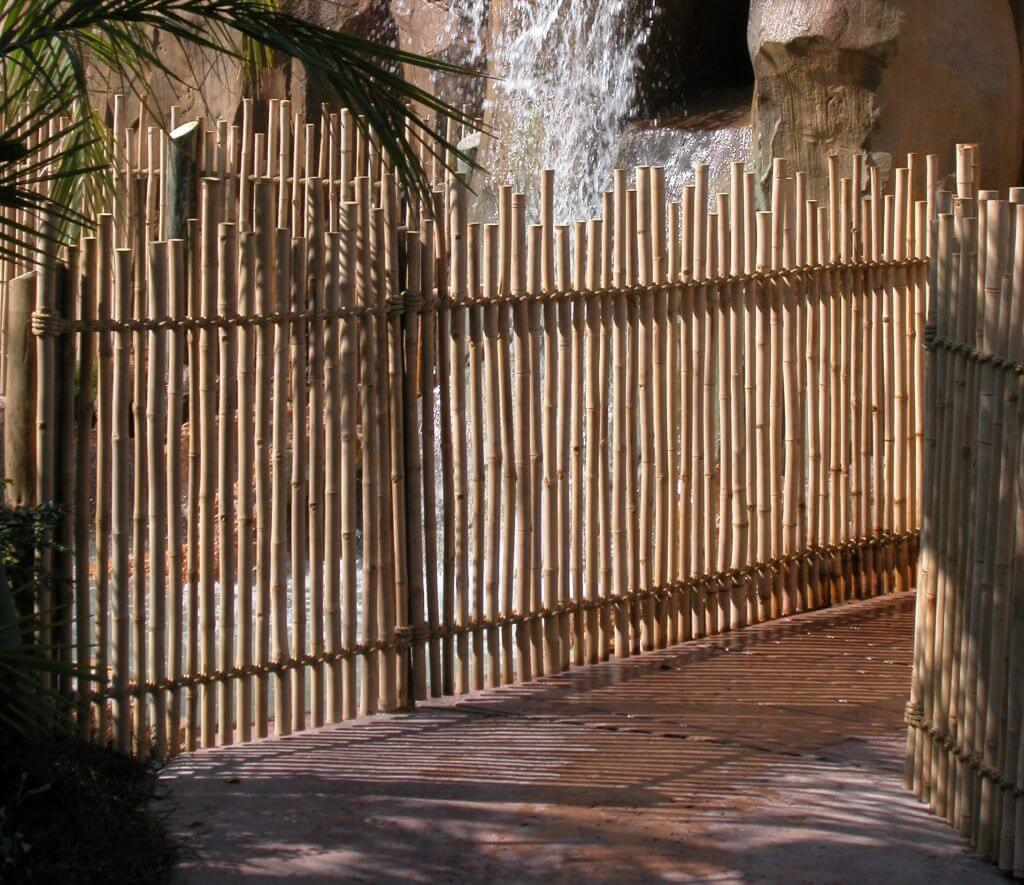 Rustic Bamboo Fencing