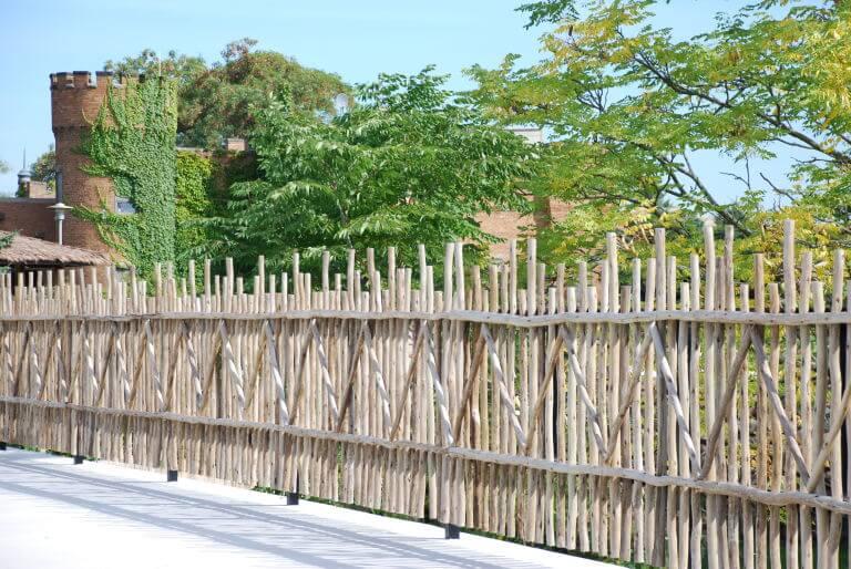rustic fences