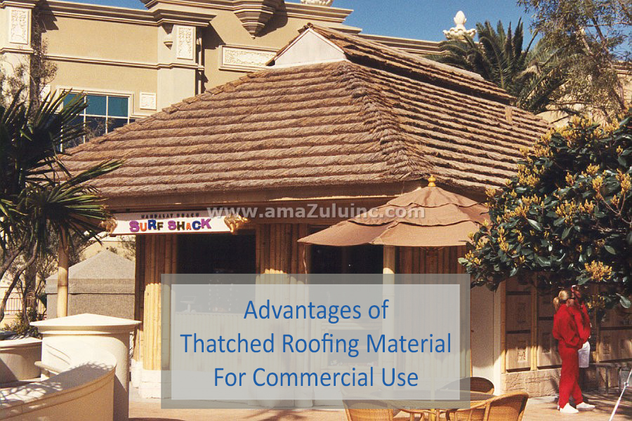 Thatched Roofing Material
