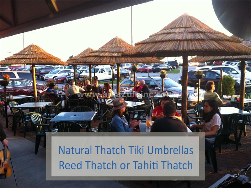 Thatch Tiki Umbrellas