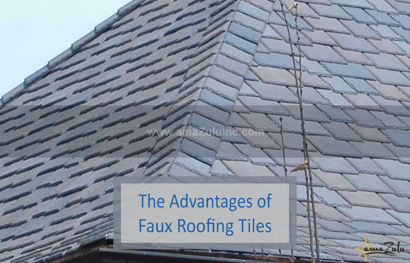 Faux Roofing Tiles