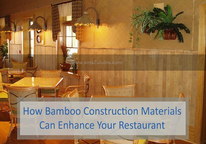 Bamboo Construction Materials