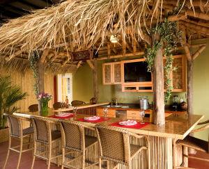 natural thatch - Mexican Rain Cape