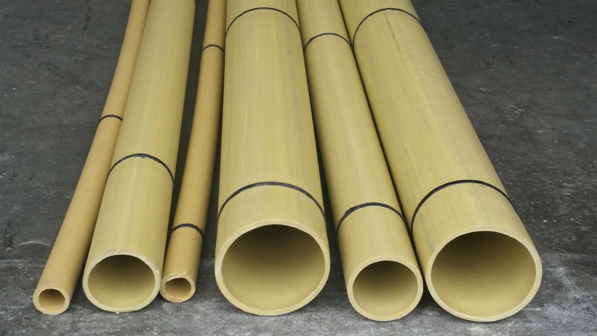 synthetic bamboo poles
