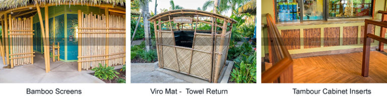 Bamboo Screens - Towel ReturnR