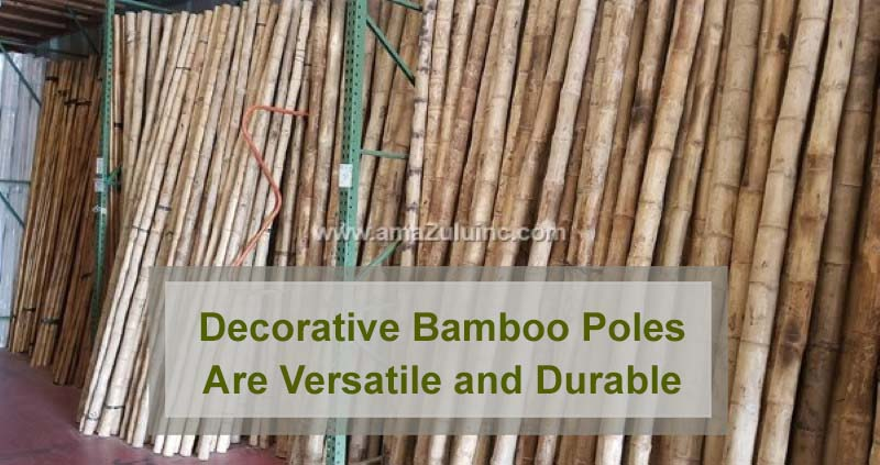 Decorative Bamboo Poles