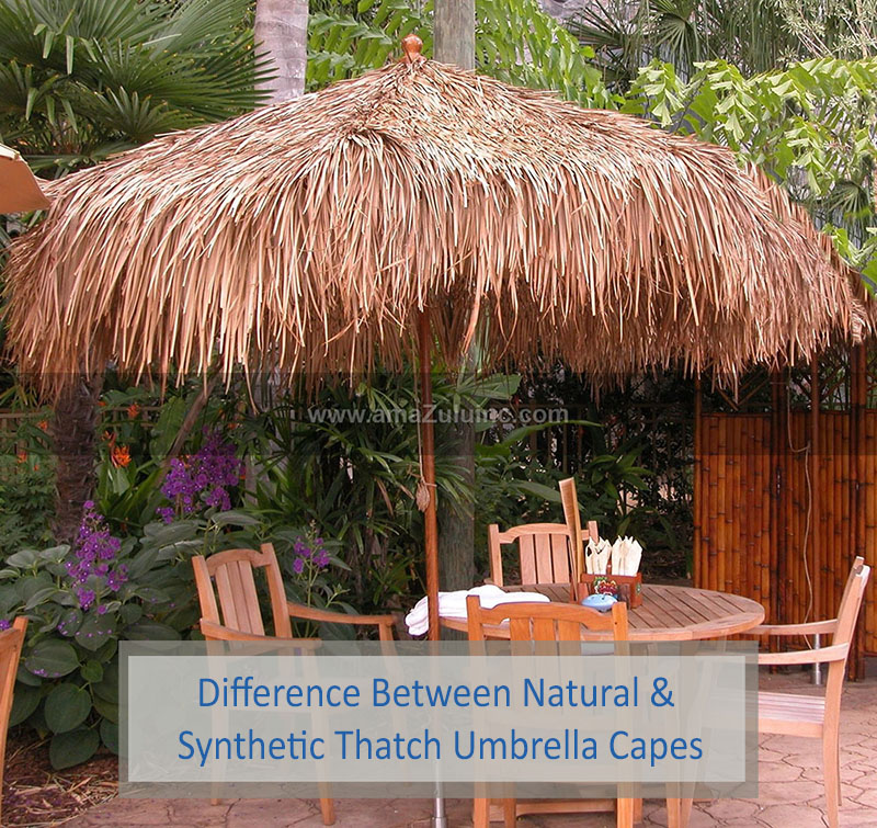 thatch umbrella capes