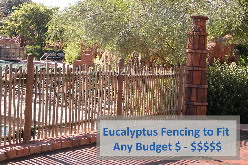 Eucalyptus Fencing