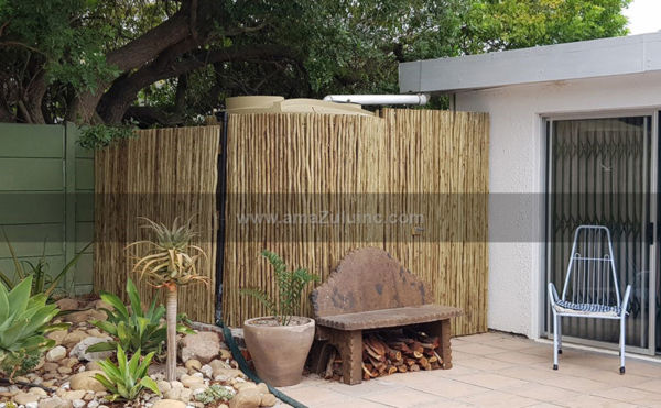 Rolled Eucalyptus Fence Panel R