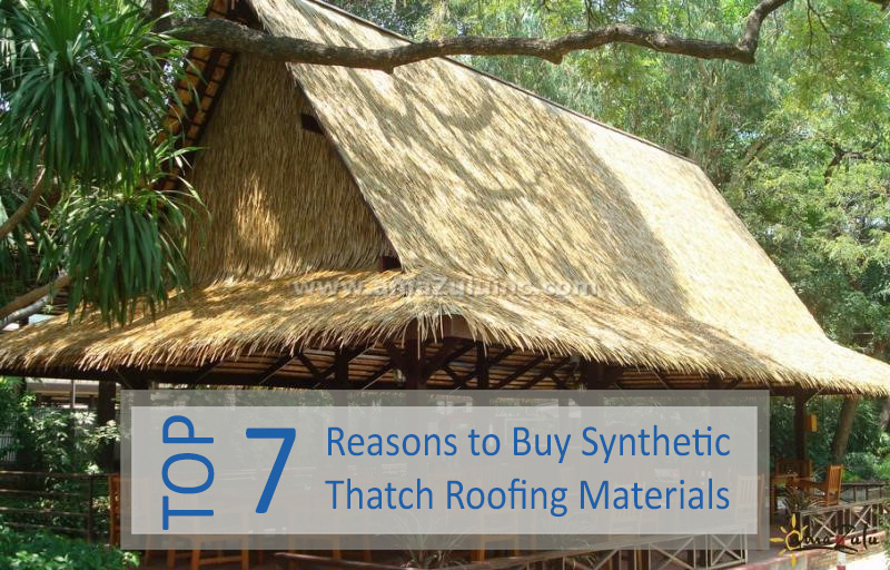 Synthetic Thatch Roofing Materials