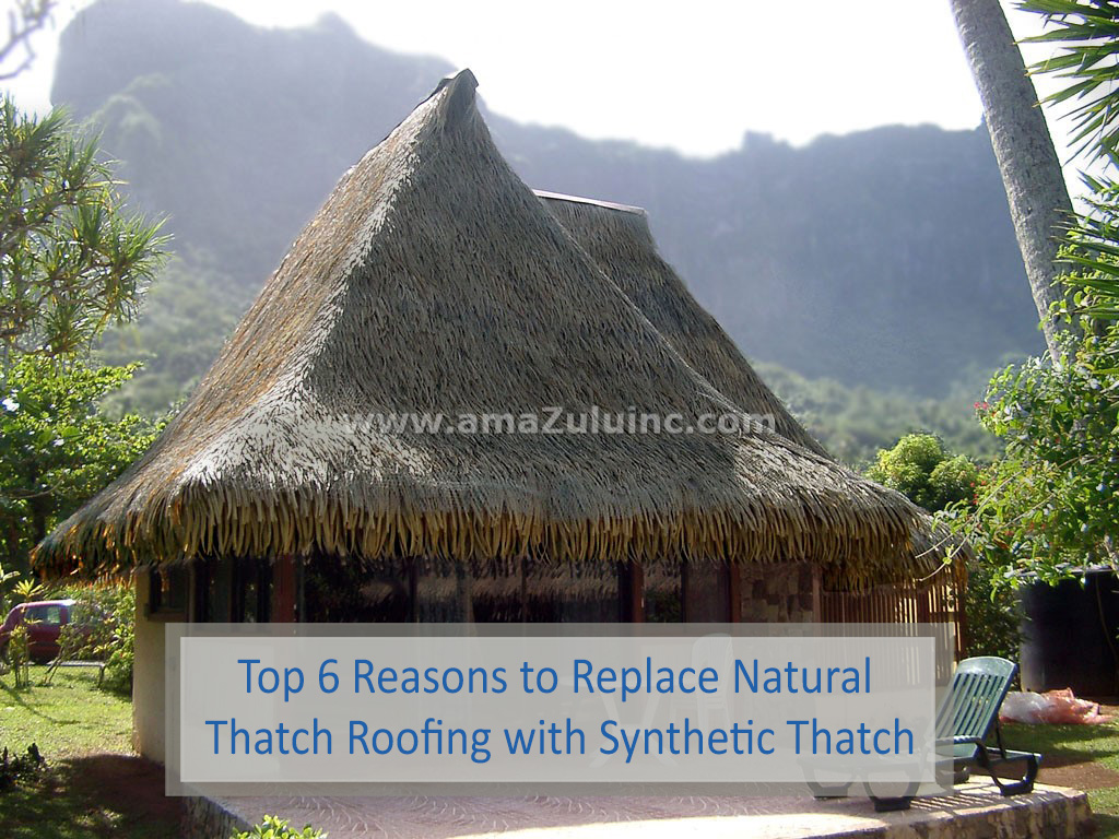 Replace Natural Thatch