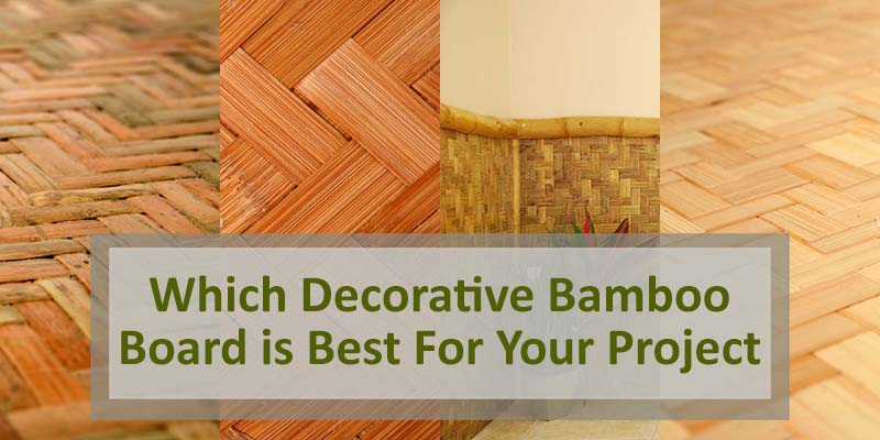Decorative Bamboo Board blog