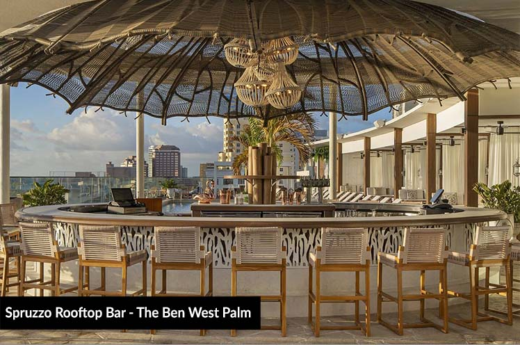 Spurzzo Rooftop Bar - The Ben West Palm