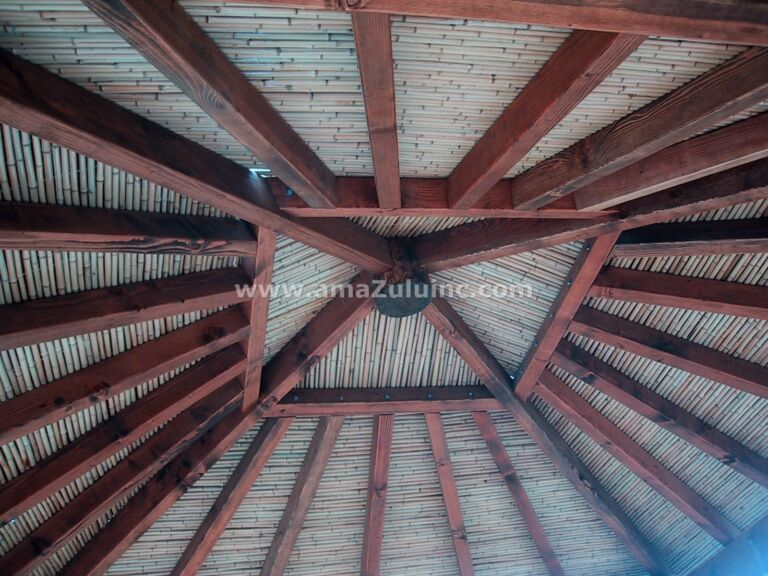 Solid Bamboo Poles for Ceiling