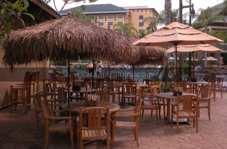 Synthetic Mexican Palm Thatch - commercial