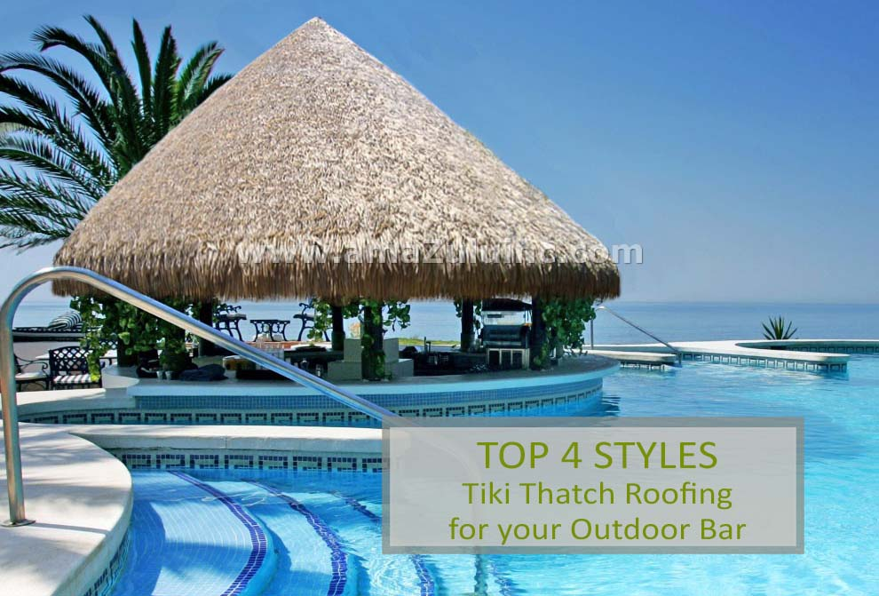 Tiki Thatch Roofing