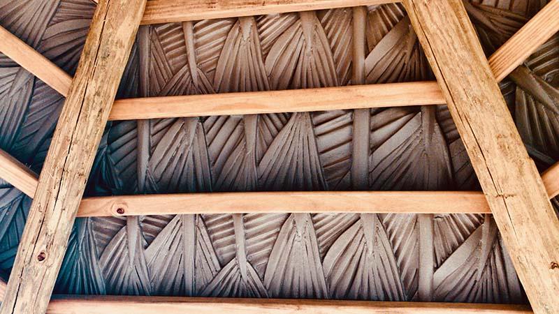 Viva Palm Thatch Under Roof- 3