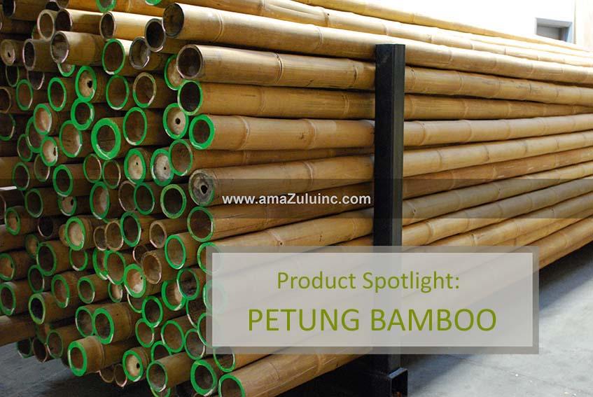Petung Bamboo in warehouse