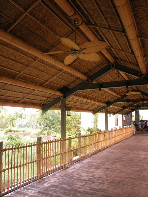 Bamboo Fence Paneling