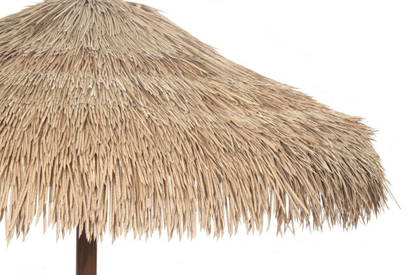 How It S Made Palapa Thatch Roofing Synthetic Thatch