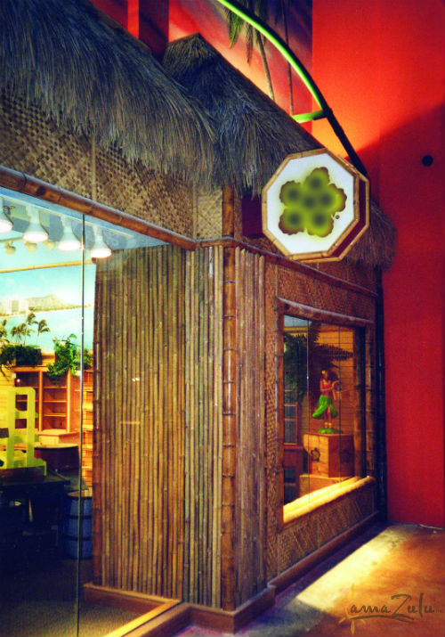 Image of bamboo and thatch from amaZulu, Inc. at Ron Jons
